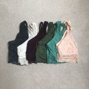 Women's American Eagle Aerie Bralettes